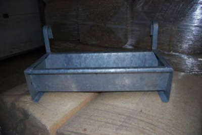 2ft Hook on Galvanised Feed Trough