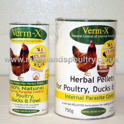 Verm-x Herbal Pellets
