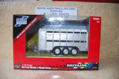 Britains 40710A1 Ivor Williams Livestock Trailer 1:32 Scale