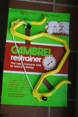 Gambrel Sheep Restrainer