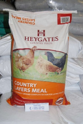 HEYGATES COUNTRY LAYERS MEAL/MASH