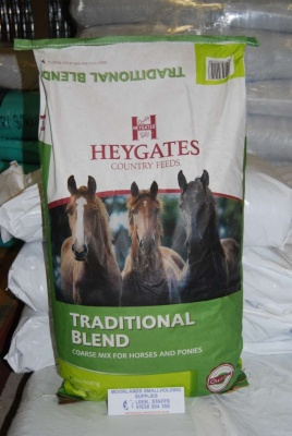 HEYGATES TRADITIONAL BLEND COARSE MIX