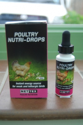 Nettex - Poultry Nutri Drops - 30ml - Instant Boost for weak Hens/Chickens