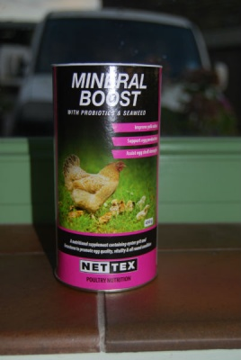 Nettex Mineral Boost Powder
