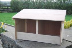 DOUBLE CHICKEN/POULTRY NEST BOX