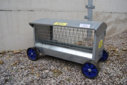 IAE Hay Feeder on Wheels