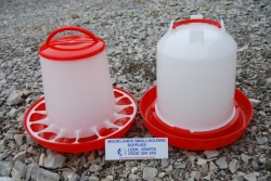 6KG POULTRY FEEDER AND 6 LTR POULTRY DRINKER