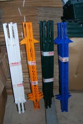 10 X HOTLINE ELECTRIC FENCE POSTS